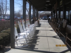 LaGrange, KY Cracker Barrel porch