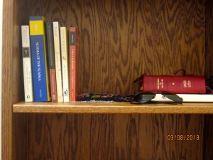 My retreat books