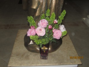 Peonies for St. Cecilia