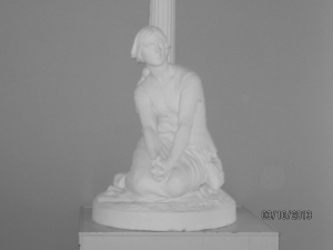 Statuary in the recreation hall
