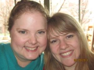 me and mel at Boston's