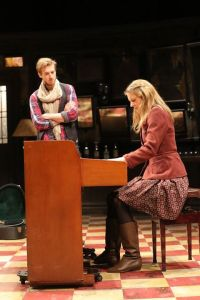 "Arthur Darvill (Guy) and Joanna Christie (Girl) in ""Once"""