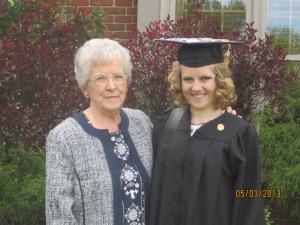 Mel and grandma