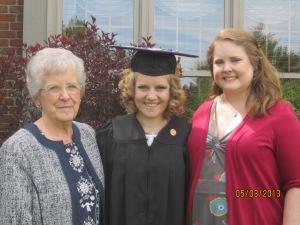Grandma, mel and moi