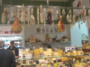 Ham and cheese, Eataly style