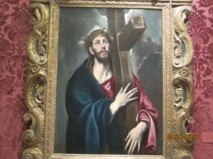 "El Greco, ""Christ Carrying the Cross"""