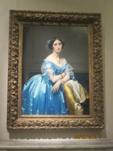 "One of my favorite paintings, from the Lehman collection. Ingres, ""Princess de Brogile"""