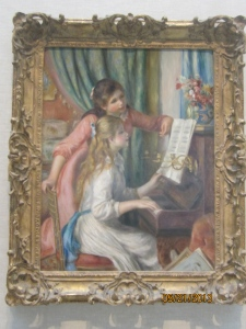 "Renoir, ""Two Girls at the Piano"""