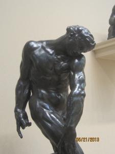 "Rodin, ""Adam"""