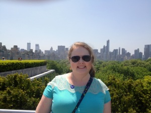 On the roof of the Met
