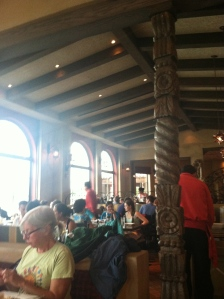 La Hacienda dining room