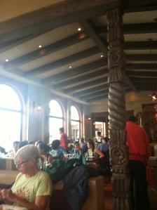 La Hacienda dining room