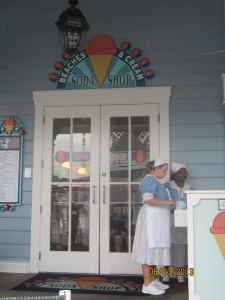 Beaches and Cream entrance