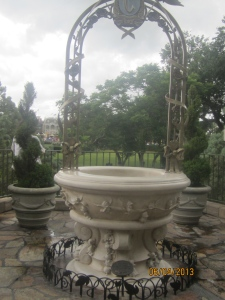 Cinderella's wishing well