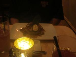 Dad's ratatouille and quinoa