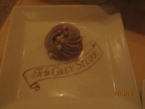 The Grey Stuff at Be Our Guest. Divine.