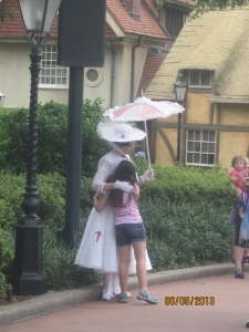 Mary Poppins in the UK Pavilion