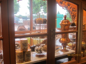 Werther's shop display in Germany