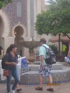 Fountains in Morocco