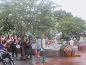 French fountains. C'est magnifique!