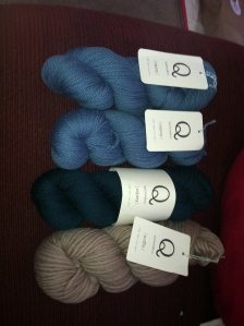 Gorgeous Quince and Co. yarn!