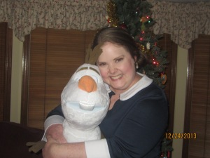 Olaf isn't mine--my brother got him for his girlfriend. But I love him anyway.