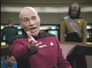 Sorry, we need some Jean Luc here.