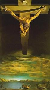 Dali, Christ of St. John of the Cross.