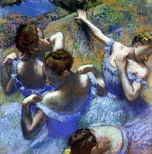 "Degas, ""Blue Dancers"""