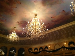 The ballroom at Be Our Guest