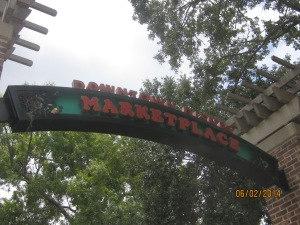 Downtown Disney Marketplace entrance