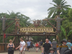 Adventureland entrance