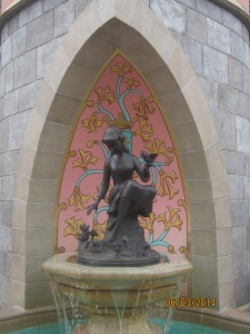 Cinderella Fountain (one of my favorite MK things)