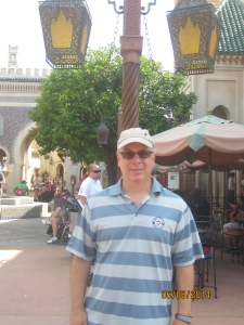 Dad in EPCOT