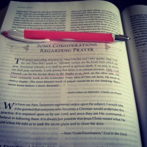 My C.S. Lewis Bible
