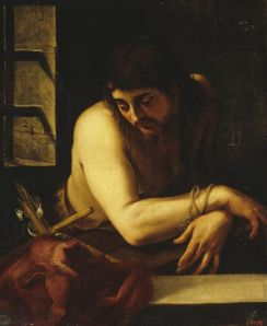 """John the Baptist in the Prison"", Juan Fernandez de Navarette"
