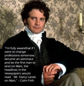 Mr Darcy on Mars