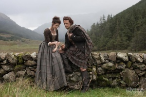 Jamie and Claire, the main characters of Outlander