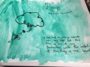 My first Sketchbook Skool assignment.