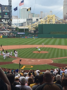 Pirates win and the Parrot takes the mound.